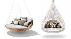 divani famosi dedon swingrest e nestrest i divani sospesi più famosi al mondo
