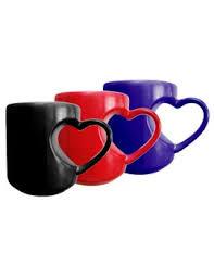 heart shaped mug inner heart shaped magic mug online gifts shopping india