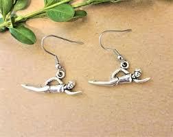 earrings for sensitive ears australia swimmer earrings etsy