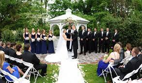 wedding venues in northern nj new jersey outdoor wedding venues