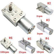 Jual Dc Gear Motor reversible motor ebay