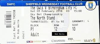 sky bet chionship table the66pow sheffield wednesday 1 v birmingham city 3 efl chionship