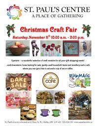 st paul u0027s christmas craft fair u2014 st paul u0027s orillia