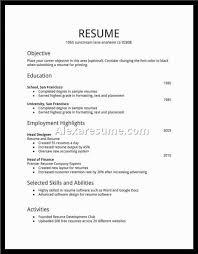 employment resume template basic resume template exles musiccityspiritsandcocktail