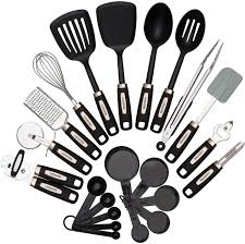 Kitchen Utensils Names by Amazon Com Cooking Utensils Set 22 Piece Home Kitchen Tools