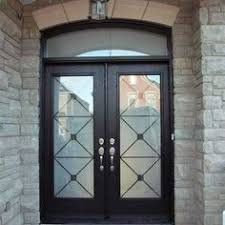 Glass Inserts For Exterior Doors 8 Foot Fiberglass Doors With Multi Point Locks Installed By