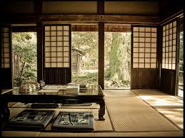 modern home interior design japanese style floor dining table