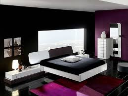 Gray And Red Bedroom by Bedroom Beautiful Purple Bright Paint Colors And White Top Black