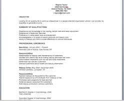 Cosmetology Skills And Abilities For Resume Beautician Cv Coinfetti Co