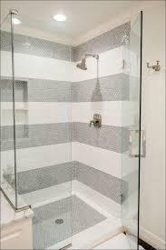 bathroom fabulous standing shower tile design glass tile shower