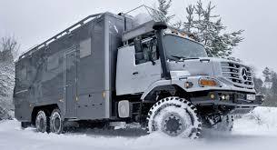 mercedes truck 6x6 mercedes delivers custom made 6x6 zetros trucks to rich