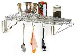 Wall Mounted Wire Shelving Wall Mounted Wire Shelving To Use To As Storage In Your Home