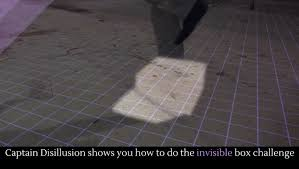 The Challenge How To Do It Captain Disillusion Shows You How To Do The Invisible Box