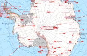 map of antarctic stations amundsen south pole station