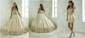 gold quince dresses two dresses in one for your quinceañera russo tux dresses