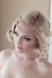 gold headpiece deco gold headpiece with vintage gold rhinestone halo seed