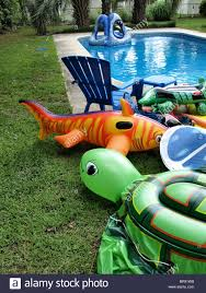 Inflatable Backyard Pools by Inflatable Pool Shark Swimming Stock Photos U0026 Inflatable Pool