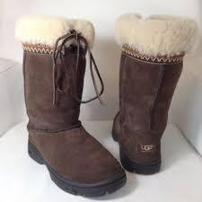 ugg shoes australia brown boots poshmark ugg shoes australia brown aztec boots poshmark