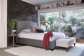 King Upholstered Bed Frame Kate Dove California King Upholstered Bed Living Spaces