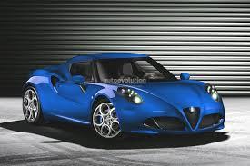 alfa romeo classic blue alfa romeo 4c looks good in blue autoevolution