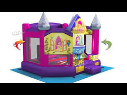 bounce house rentals houston disney princess 5in1 3d bounce house rental houston