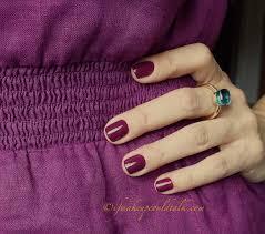 estee lauder insolent plum pure color nail lacquer review and