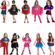 Female Superhero Costume Ideas Halloween Childs Superhero Fancy Dress Costume Halloween Book Week Kids