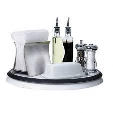 plateau tournant cuisine plateau de cuisine tournant blanc achat vente plat de service