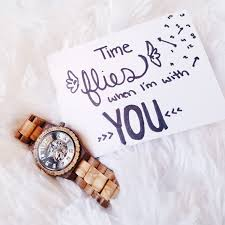 Surprise Welcome Home Ideas by A Timeless Gift Wooden Watch Boyfriends And Gift
