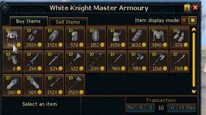 runescape runecrafting guide runescape invention skill starting out guide white knight gear