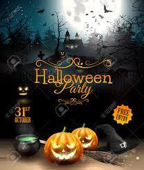 spooky halloween clipart u2013 festival 100 free printable halloween party flyers 649 best