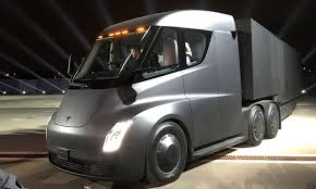 tesla inside tesla has unveiled all new electric truck and it looks amazing
