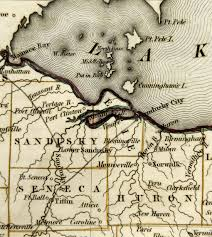 1840 Map Of The United States by Historical Maps Erie County Ohio Historical Society Resources