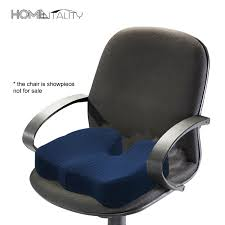 memory foam hip orthopedic chair coussin ergonomic hemorrhoid seat