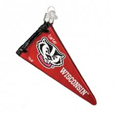 wisconsin badgers ornaments gifts personalized ornaments for you