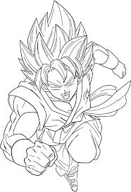 son goku super saiyan god super saiyan dark crawler deviantart