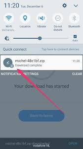 downloading zip files on your android phone or tablet