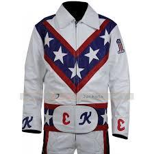 white motorcycle jacket knievel motorcycle white leather jacket costume