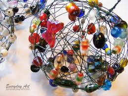 everyday wire and bead ornaments
