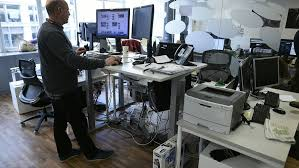 Stand Up Desk Office Standing Desks May Zero Health Benefits Marketwatch