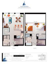 2 Story Apartment Floor Plans Floor Plans U2013 The Lansburgh