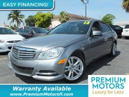 mercedes warranty information 2012 used mercedes c class 4dr sedan c 250 luxury rwd at