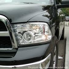 2009 dodge ram 1500 headlight bulbs 09 14 dodge ram 1500 chrome ccfl halo led projector headlights