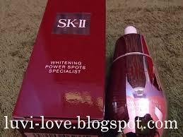 Sk Ii Wpss luvi sk ii whitening power spots specialist review
