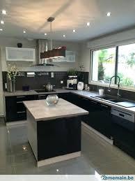 cuisine noir laqué pas cher beautiful cuisine equipee noir laque contemporary design trends