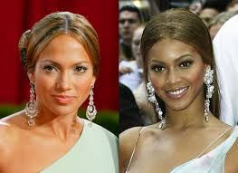 jlo earrings beyonce copies fashion