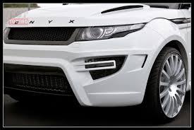 onyx range rover тюнинг обвес onyx на land rover range rover evoque