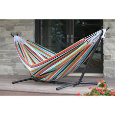sunbrella hammock with stand free shipping today overstock com