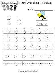 writing letters worksheets for kindergarten free worksheets