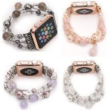 beads bracelet designs images Agate bead bracelet watch band multiple designs and colors jpg